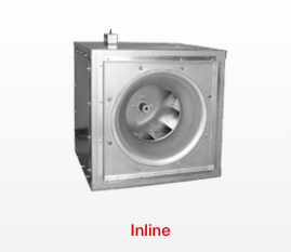 Centrifugal and Mixed Flow Inline Fans