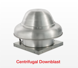 Centrifugal Downblast Fans
