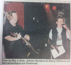 Remy and Adrian BORLAND at the 1997 DOLE tribute party