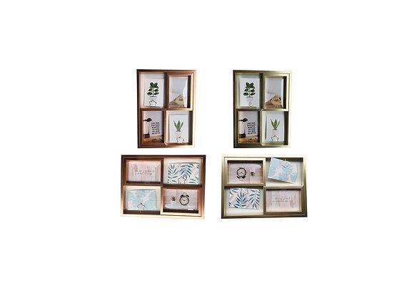 Porta retrato de plástico c/ porta foto  - 10x15cm ( HP6351 )4