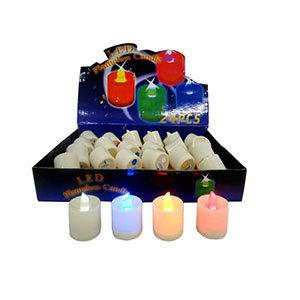 ENFEITE PLASTICO C/LUMINARIA (HQ61201)