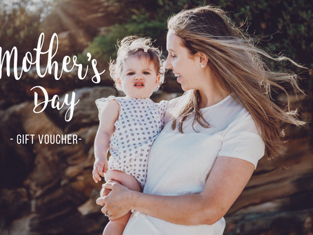 Mother's Day Gift Voucher. Get Mum on Nan in the photos this year!