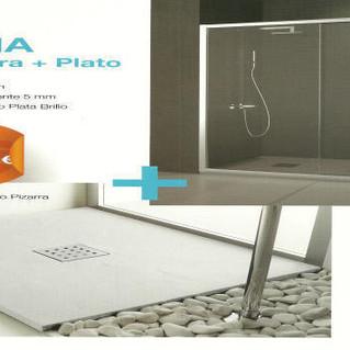 Mampara y Plato de ducha