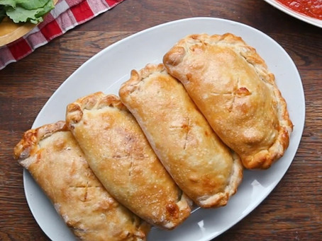 3 Meat Calzone, A Meal For The Family
