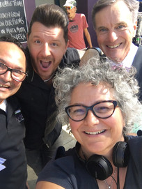 "Manu Feildel, Kat & Nicholas Hammond ""The BBQ"""