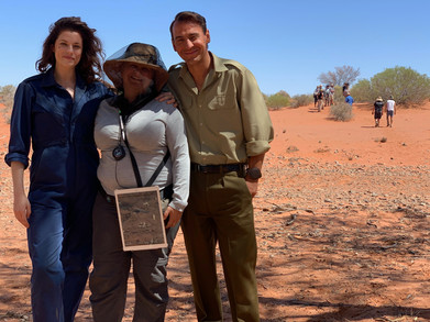 "Jessica De Gouw, Kat & Ewen Leslie  ""Operation Buffalo"""