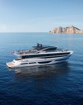 Princess X95 Abromowitz Sharp Yachtbroke