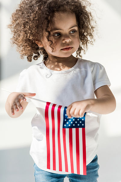Baby Girl With American Flag.jpg
