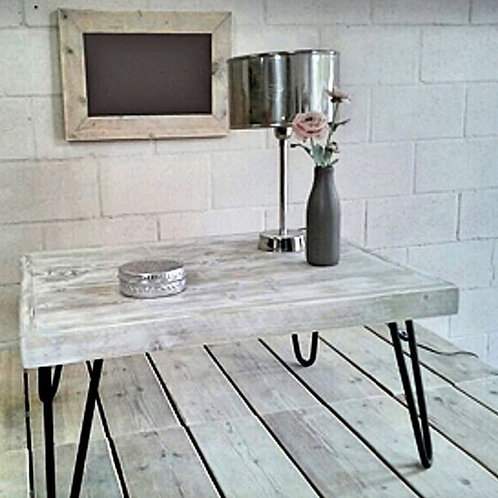 HAIRPIN INDUSTRIAL COFFEE TABLE