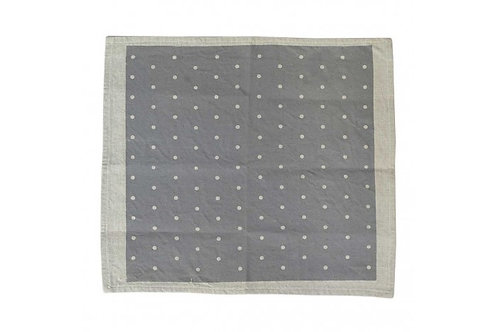NAPKIN CYGNET GREY-SET OF 4