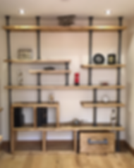 Custom made Sudy/Office shelfing system