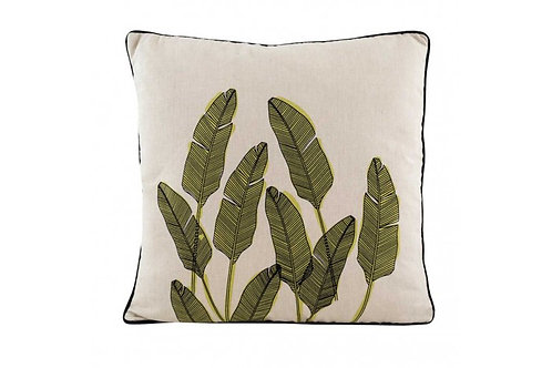 MOSS GREEN PALM SPRINGS CUSHION