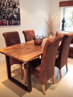 LANG EDGED DINING TABLE