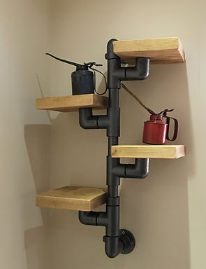 Custom made Sudy/Office shelfing system