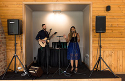 Acoustic duo at Glenerin Estate