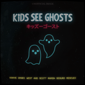 Kids See Ghosts Album Redesign