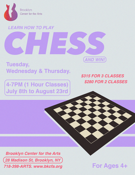 Chess Program Promotional Flyer