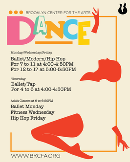 Dance Classes Promotional Flyer