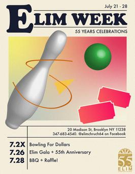 Elim Week Promotional Flyer