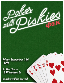 Poker Event Flyer