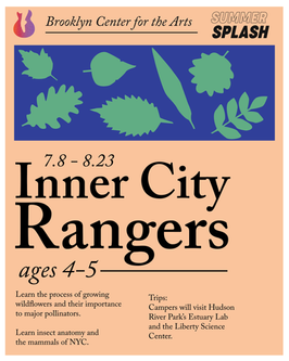 Inner City Rangers Promotional Flyer
