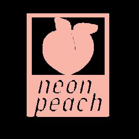 Neon Peach Logo