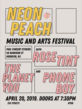 Neon Peach Music and Arts Festival