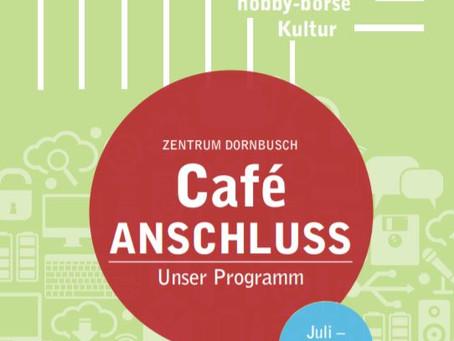 Neues Café ANSCHLUSS Programm verfügbar