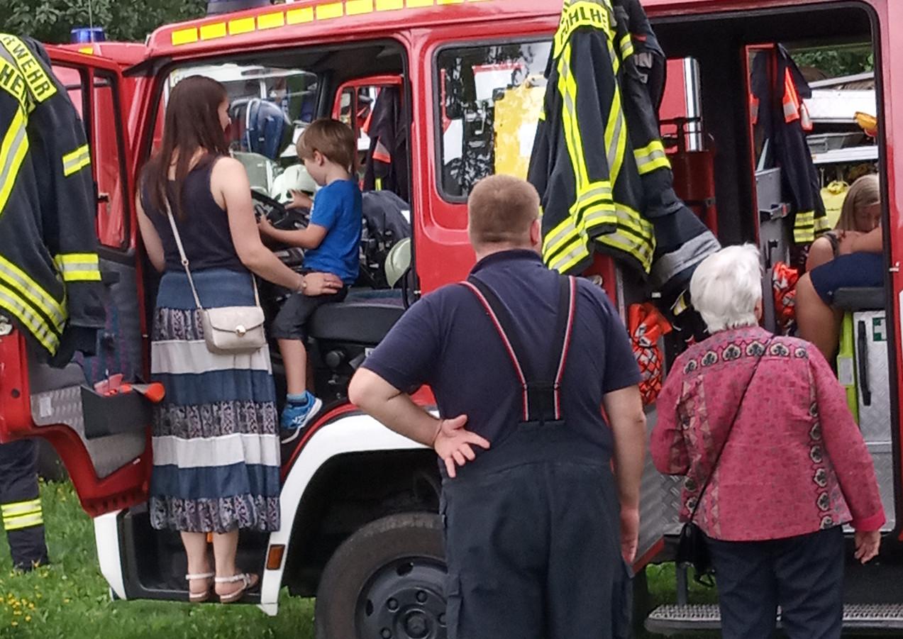 Besuch der Feuerwehr Pohlheim