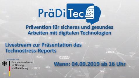 Die Ergebnisse des Technostress-Reports (Aufzeichnung Livestream vom 04.09.2019)