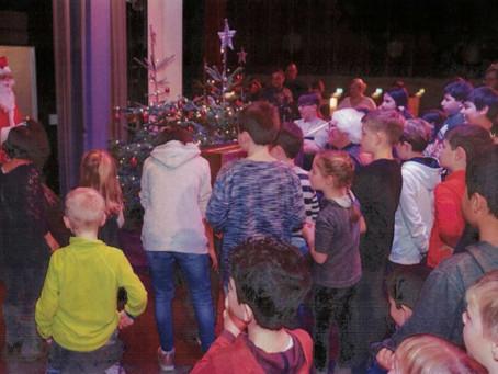 Weihnachtszauber für krebskranke Kinder in der Kongresshalle Gießen