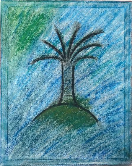 Ägyptische Kokosnusspalme
