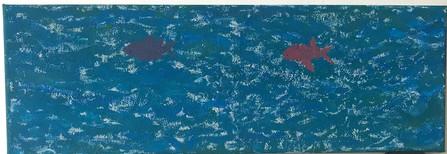Tiefblauer Ozean