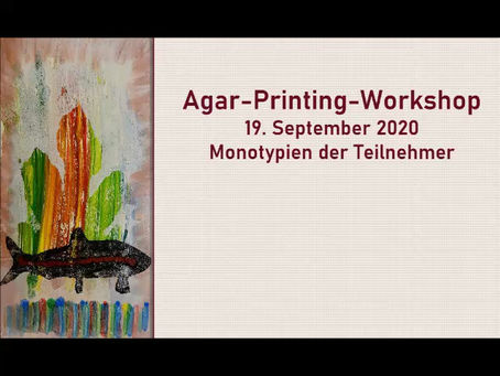 Agar-Printing Workshop