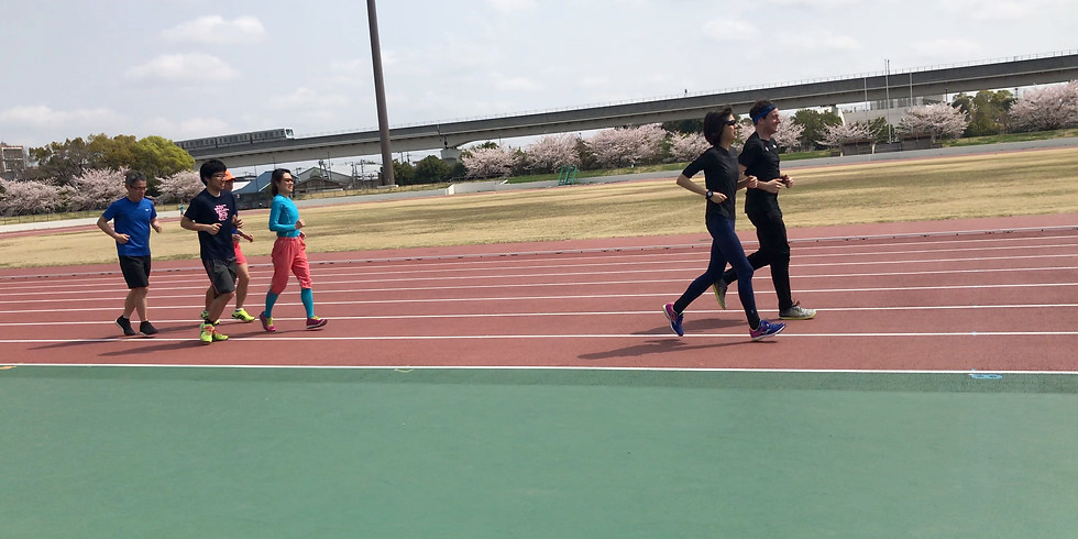 陸上競技場練習会