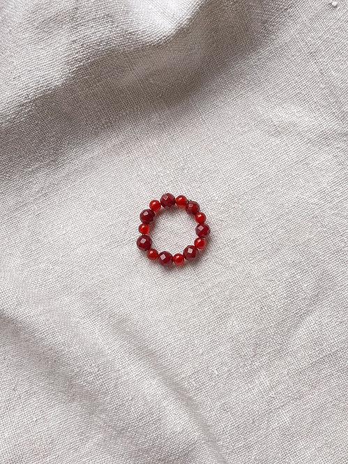 Carnelian Mix Delight Ring