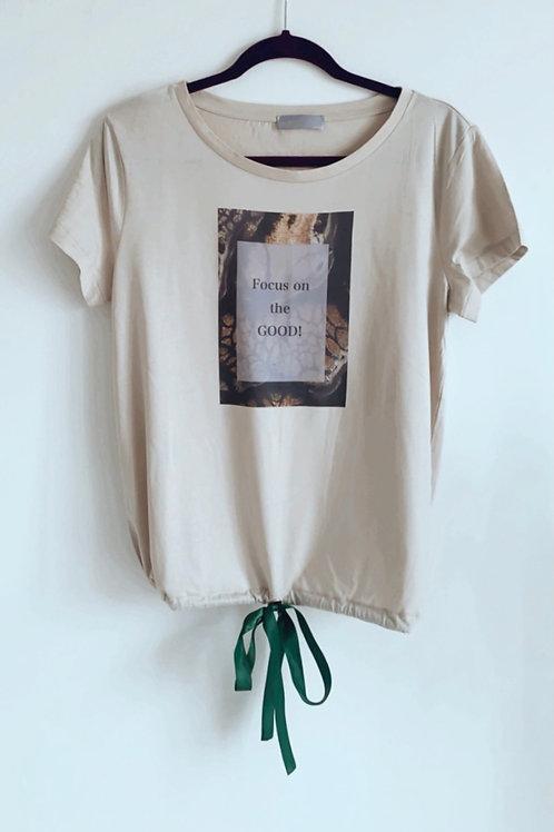 Héria Enamel printed T-shirt