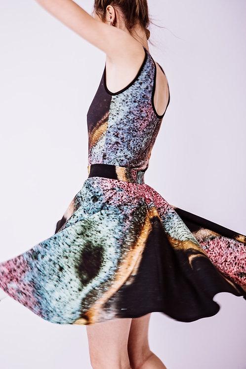 Printed Skirt and Body