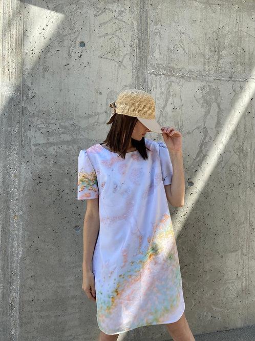 Héria Enamel Printed Dress