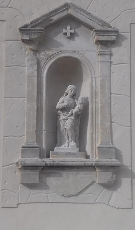 Les Statues sur les façades