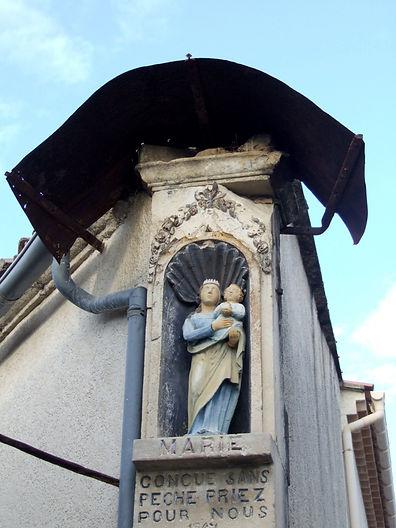 Vierge à l'enfant -Tmpasse Saint Jean- N