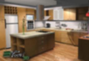 Lepton Cabinet Cocina presentazione cucina design