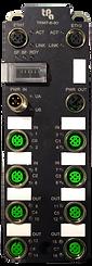 TRS67-8I-8O, EtherCAT coupler, 16 digital lines