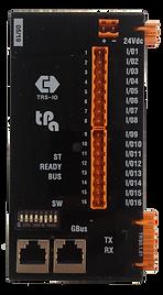 Tpa TRS-IO bus coupler, GreenBUS, 16 bidirectional digital I/O channels, expandable