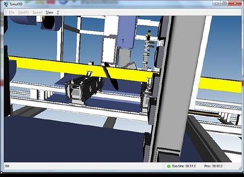 Vista tridimensional de Tpa Simul 3D