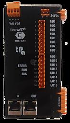 Acoplador bus Tpa TRS-CAT, 16 líneas digitales bidireccional de E/S, expandible