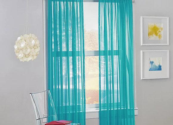 Curtains Reposteiro Voile