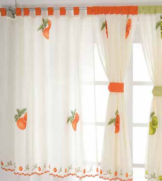 Curtains Reposteiro Orange