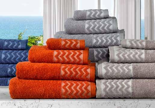 Uranio Towels 6Pcs Set