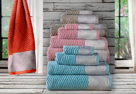 Saturno Towels 6Pcs Set